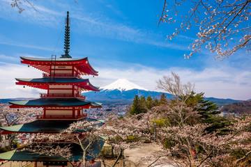 The mount Fuji, Japan