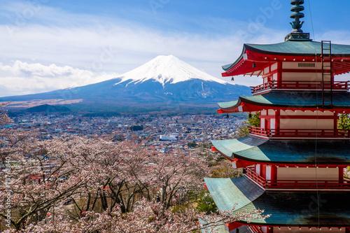 Foto op Plexiglas Japan The mount Fuji, Japan