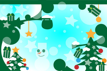 クリスマスの不思議な空間