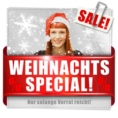 Weihnachts-Special! Button, Icon