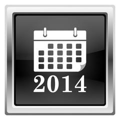 2014 calendar icon