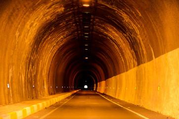 Undergound Dark Tunnel