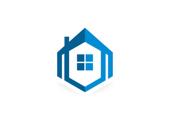 home, house, real estate, construction, building, logo design