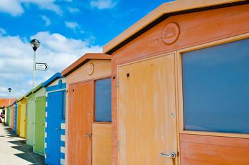 Cabine in spiaggia