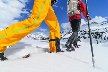 Winterwandern mit Schneeschuhen