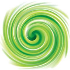 Vector swirling backdrop light green color