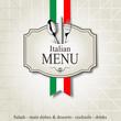 Italian menu - 73773413
