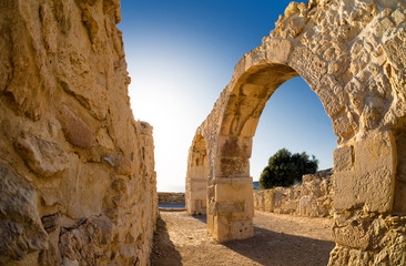 Ruins of Ancient Kourion. Limassol District. Cyprus