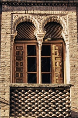 Moorish brick window