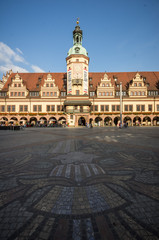 Old Town Hall of Leipzig, Germany