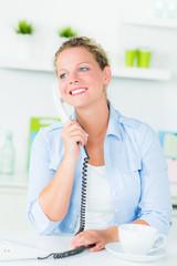 unterhaltung am telefon