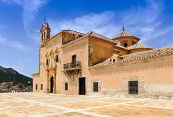 Monastery of  Virgin Del Saliente Almeria Andalusia Spain