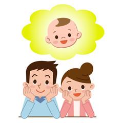 子づくりを考える夫婦