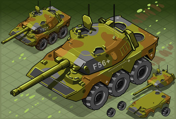Isometric Tank Two Version