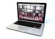 modern aluminum business laptop