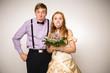 freches Brautpaar