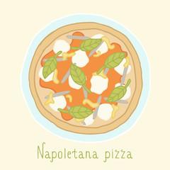 Napoletana pizza.
