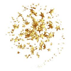 Sternschnuppe, Sterne, golden, Spirale, Schnuppe, Komet,  Haufen