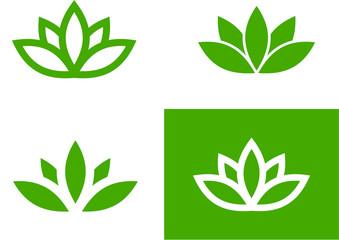 Green lotus set