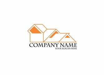 Real Estate House Business Logo Design