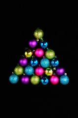 Christmas baubles © Arena Photo UK
