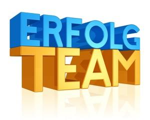 das starke Team trägt den Erfolg