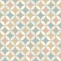 Seamless vector color mosaic pattern
