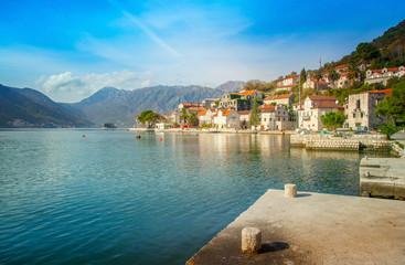 Perast city, Montenegro
