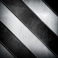 metal with stripe pattern