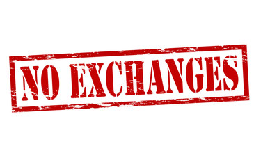 No exchanges