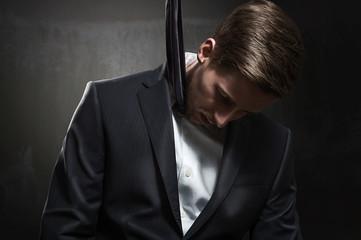 Strangled Businessman