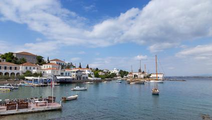 Spetses island old harbor, Greece