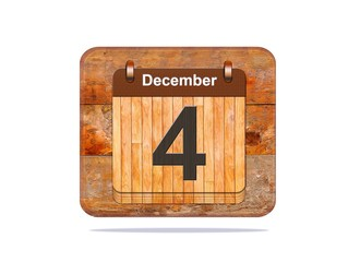 December 4.