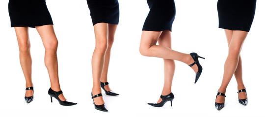 Collage of women'slegs