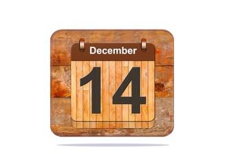 December 14.