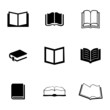 Vector book icons set - 73783438