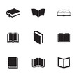 Vector schoolbook icons set - 73783638