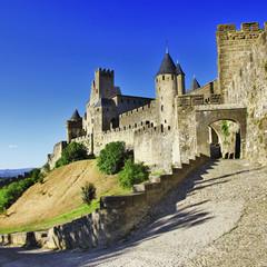medieval castle of France - Carcassonne