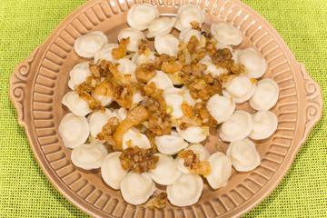 home-made dumplings