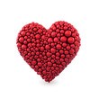 Heart made of red balls , Wedding ,Marriage