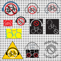 Cycle safely no headphones