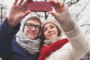 Selfie of dates
