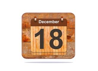December 18.