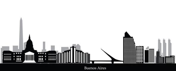 buenos aires city skyline