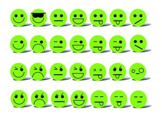 emoticons green