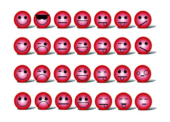 emoticons red