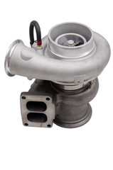 turbocharger on a white background isolated
