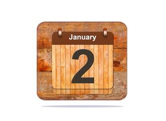 January 2.