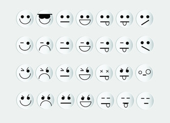 emoticons rilievo