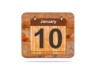 January 10.